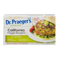 Dr. Praeger's Sensible Foods Veggie Burgers California - 4 ct Frozen