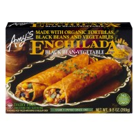 Amy's Enchiladas Black Bean Vegetable Gluten Free - 2 ct Organic