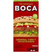 Boca Veggie Burgers Original Turk'y - 4 ct Frozen