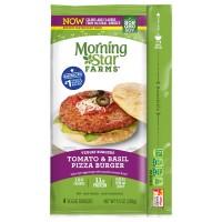 MorningStar Farms Veggie Burgers Tomato & Basil Pizza - 4 ct Frozen
