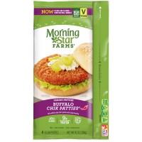 MorningStar Farms Chik Patties Buffalo Frozen - 4 ct