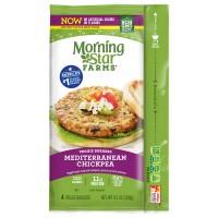 MorningStar Farms Veggie Burgers Mediterranean Chickpea - 4 ct Frozen