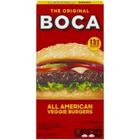 Boca Veggie Burgers All American - 4 ct Frozen