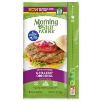 MorningStar Farms Grillers Veggie Burgers Original Frozen - 4 ct