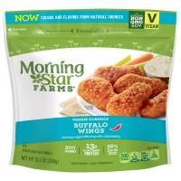 MorningStar Farms Veggie Classics Wings Buffalo - apx 15 ct Frozen
