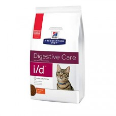 Hill's Prescription Diet i/d Digestive Care Chicken Flavor Dry Cat Food, 8.5 lbs., Bag