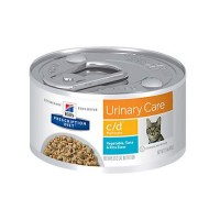 Hill's Prescription Diet c/d Multicare Urinary Care Tuna & Vegetable Stew Canned Cat Food, 2.9 oz., Case of 24