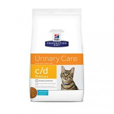 Hill's Prescription Diet c/d Multicare Urinary Care with Ocean Fish Dry Cat Food, 8.5 lbs., Bag