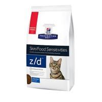 Hill's Prescription Diet z/d Skin/Food Sensitivities Original Dry Cat Food, 8.5 lbs., Bag