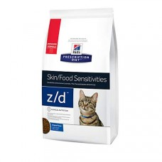 Hill's Prescription Diet z/d Skin/Food Sensitivities Original Dry Cat Food, 8.5 lbs., Bag