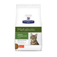 Hill's Prescription Diet Metabolic Weight Management Chicken Flavor Dry Cat Food, 17.6 lbs., Bag