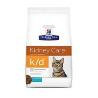 Hill's Prescription Diet k/d Kidney Care Ocean Fish Dry Cat Food, 8.5 lbs., Bag