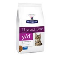 Hill's Prescription Diet y/d Thyroid Care Original Dry Cat Food, 8.5 lbs., Bag