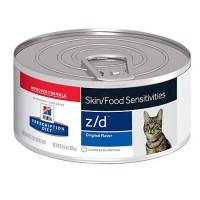 Hill's Prescription Diet z/d Skin/Food Sensitivities Original Canned Cat Food, 5.5 oz., Case of 24