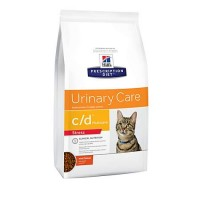 Hill's Prescription Diet c/d Multicare Stress Urinary Care with Chicken Dry Cat Food, 13 lbs., Bag