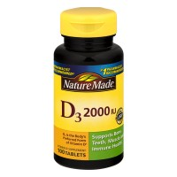 Nature Made Vitamin D 2000 IU Maximum Strength Supplement Tablets