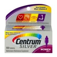 Centrum Silver Multivitamin Multimineral Supplement for Women 50+ Tablets