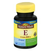 Nature Made Vitamin E 400 IU Dietary Supplement Liquid Softgels