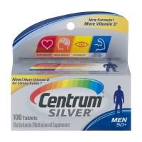 Centrum Silver Multivitamin Multimineral Supplement for Men 50+ Tablets