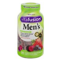 Vitafusion Men's Complete Gummy Multi Vitamins for Adults Berry Flavored