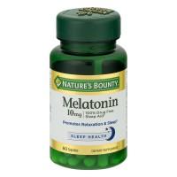 Nature's Bounty Melatonin 10 mg Maximum Strength Capsules
