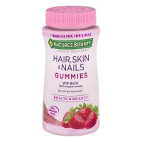 Nature's Bounty Multivitamins for Hair, Skin & Nails Strawberry Gummies