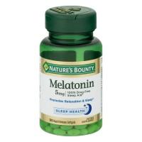 Nature's Bounty Melatonin 5 mg Super Strength Liquid Softgels