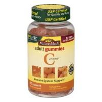 Nature Made Adult Vitamin C Gummies Dietary Supplement Tangerine