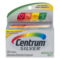Centrum Silver Multivitamin Multimineral Supplement for Adults 50+ Tablets