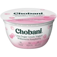 Chobani Low-Fat Blended Greek Yogurt Willamette Raspberry