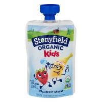 Stonyfield Kids Yogurt Strawberry Banana Low Fat Organic
