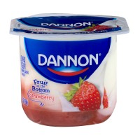 Dannon Fruit on the Bottom Yogurt Strawberry