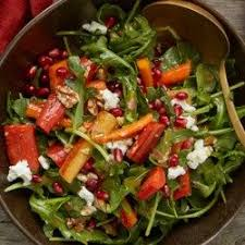 Arugula & Goat Cheese Salad