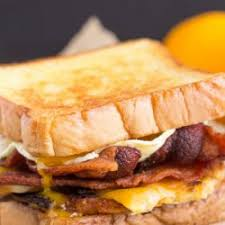 Bacon, Cheese and Egg Sandwich
