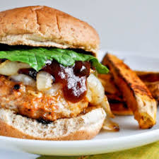 Chicken Burger with 2 Sides