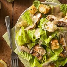 Chicken Caesar Salad and 20 oz. Soda