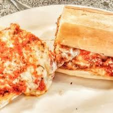 Chicken Parmigiana Hero