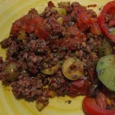 Cuban Ground Beef