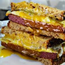 Egg with Pastrami