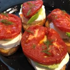 Fried Tomatoes and Mozzarella