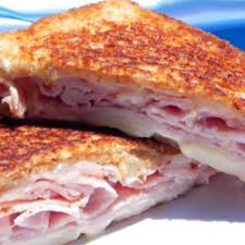 Grilled Cheese with Bacon or Ham