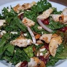 Grilled Chicken with Spinach
