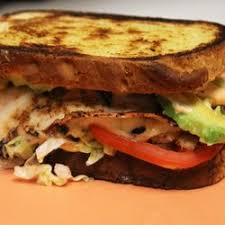 Grilled Chicken, Provolone and Tomato Sandwich