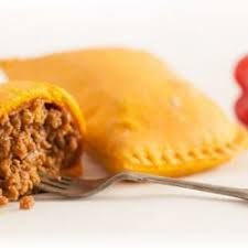 Jamaican Beef Patties with Cheese