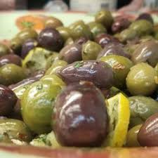 Mixed Olives Plate