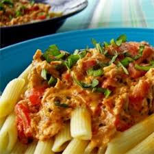 Penne alla Vodka with Grilled Chicken