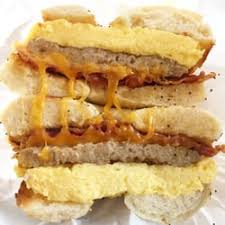 Sausage with Egg and Cheese Sandwich
