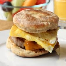 Sausage, Egg and Cheese Sandwich