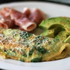 Spinach and Feta Omelette