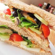 Fried Vegetable Sandwich